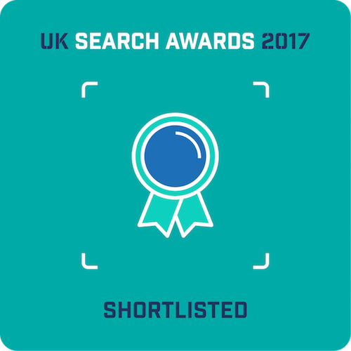 UK Search Awards 2017 Shortlist