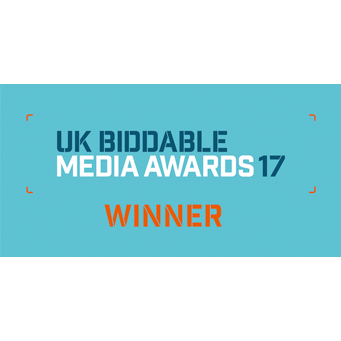 Biddable Brand Campaign of the Year 2017 Winner
