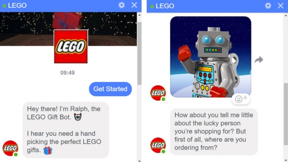 December Digital Marketing Guide - Lego Chatbot