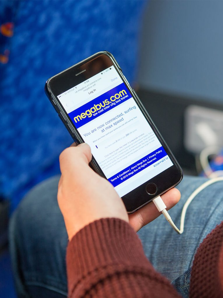 Megabus Case Study Page Feature