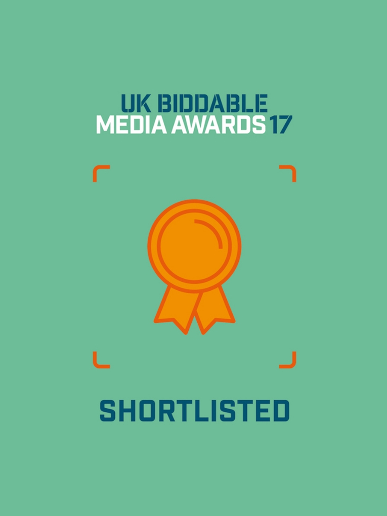 UK Biddable Media Awards Shortlisted Feature