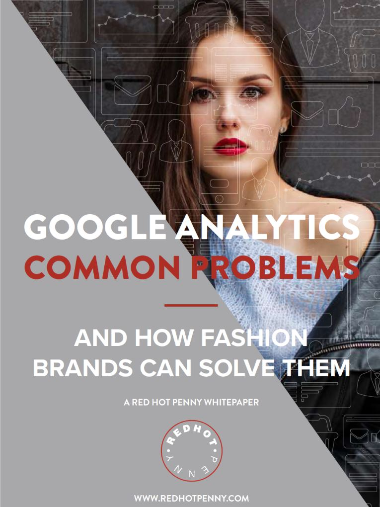 Google Analytics Common Problems Fashion Blog Feature