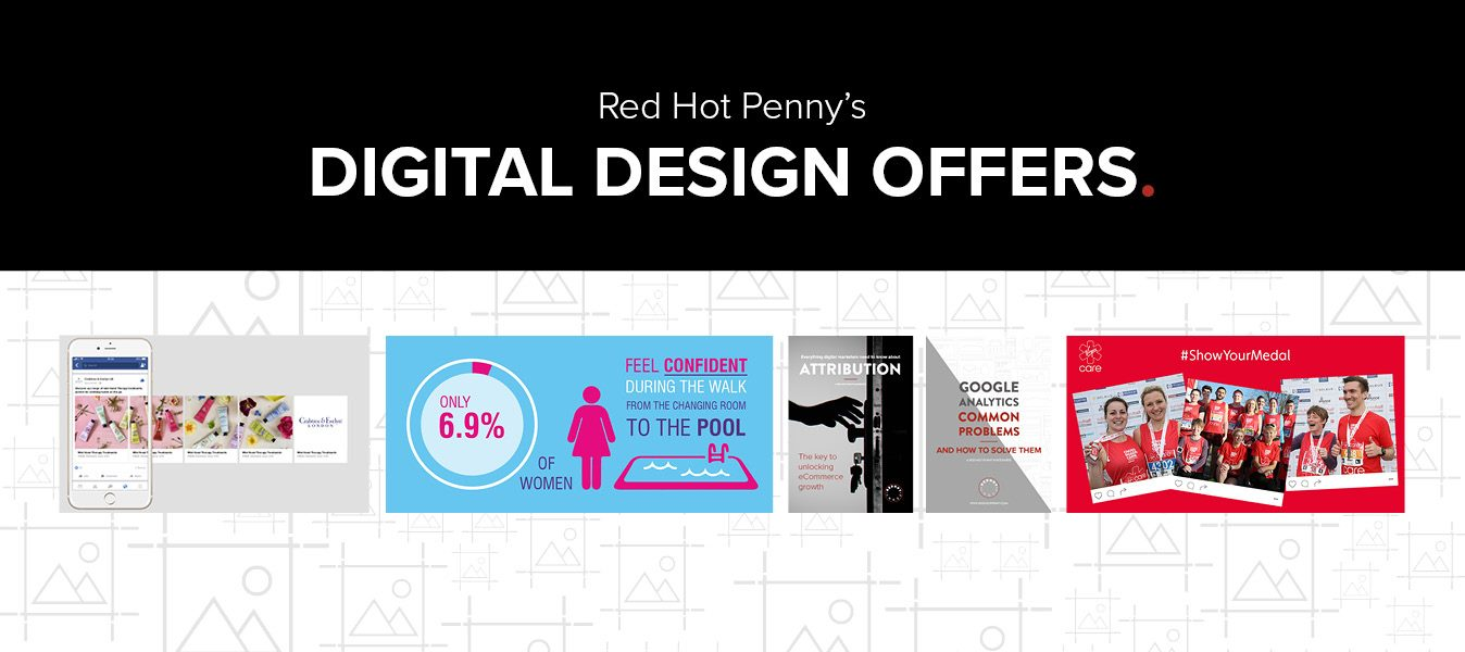 Red Hot Penny Digital Graphic Design Offers