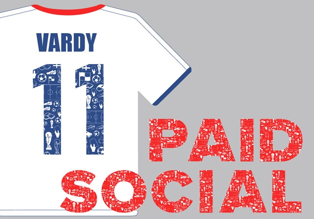England Football Team Marketing Channels - 10 Jamie Vardy Paid Social