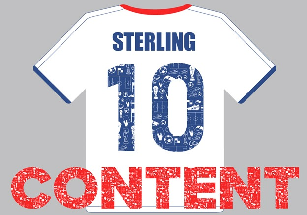 England Football Team Marketing Channels - 10 Sterling Content