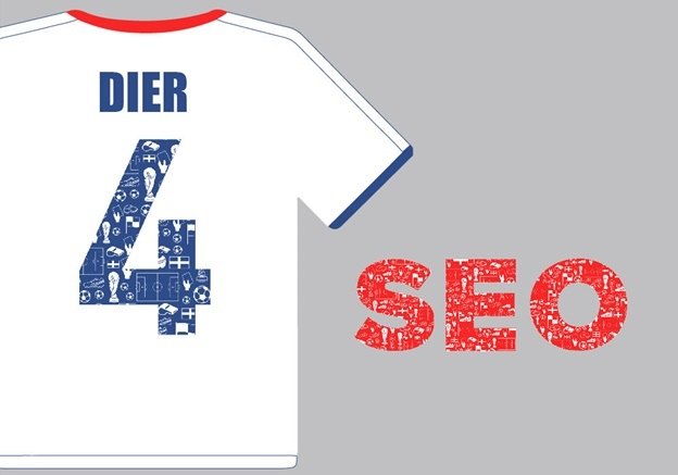 England Football Team Marketing Channels - 4 Eric Dier SEO