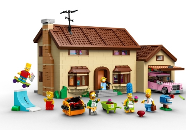 Cross-brand collaborations Feature 2 Simpsons Lego Ikea