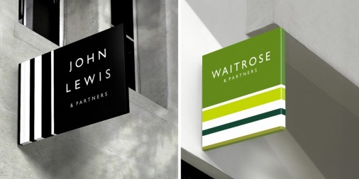 5 Rebrands - John Lewis Waitrose New Logos