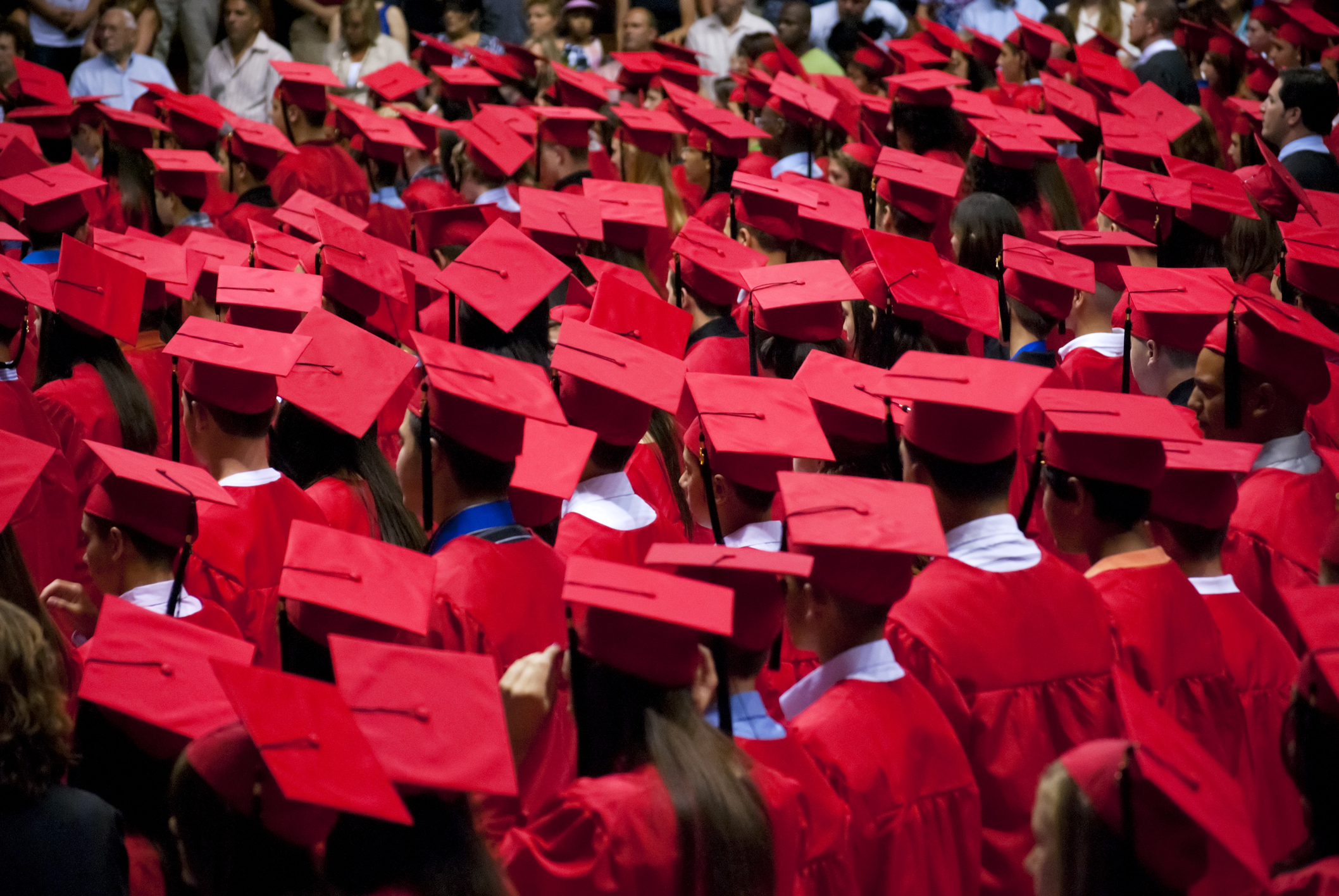 Mortarboard and gown place of learning
